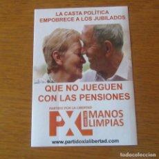 Adesivi di collezione: PEGATINA POLITICA. Lote 205309421