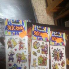 Autocolantes de coleção: 5 BLISTERS ADESHIVAS STICKERS SERIE DIBUJOS TELE TABIS. Lote 205313621