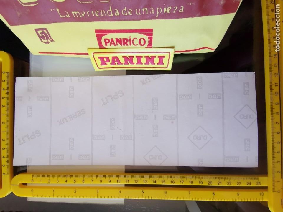 Pegatinas de colección: CROMO ANTIGUA PEGATINA SIN PEGAR PUBLICIDAD PROMOSTAFF - PANRICO DONUTS EVOLUCIÓN HOMBRE - Foto 2 - 205336267