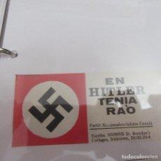 Pegatinas de colección: PEGATINA POLITICA TRANSICION. Lote 205364941