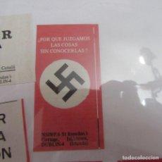 Pegatinas de colección: PEGATINA POLITICA TRANSICION. Lote 205365008