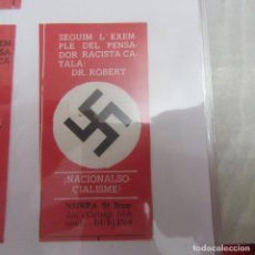 Pegatinas de colección: PEGATINA POLITICA TRANSICION. Lote 205365042