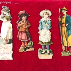 Pegatinas de colección: CROMOS TROQUELADOS COMPAÑIA COLONIAL MADRID CHOCOLATES. Lote 205590643