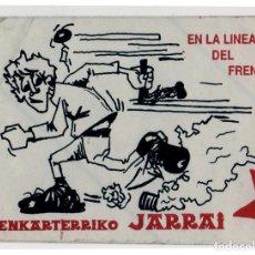 Adesivi di collezione: PEGATINA POLITICA VASCA - JARRAI. Lote 206339791