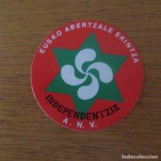 Pegatinas de colección: PEGATINA POLITICA TRANSICION. Lote 206374656