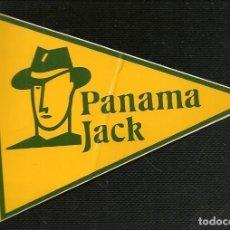 Pegatinas de colección: PEGATINA ADHESIVA. PANAMA JACK. TAMAÑO: 11 X 9 CMT. APROX. (C/A24). Lote 206509690