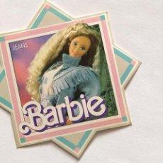 Pegatinas de colección: PEGATINA STICKER ADHESIVO DE BARBIE JEANS 1989 MATTEL ESPAÑA. Lote 206829696