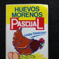 Pegatinas de colección: PEGATINA HUEVOS MORENOS PASCUAL. Lote 207142192
