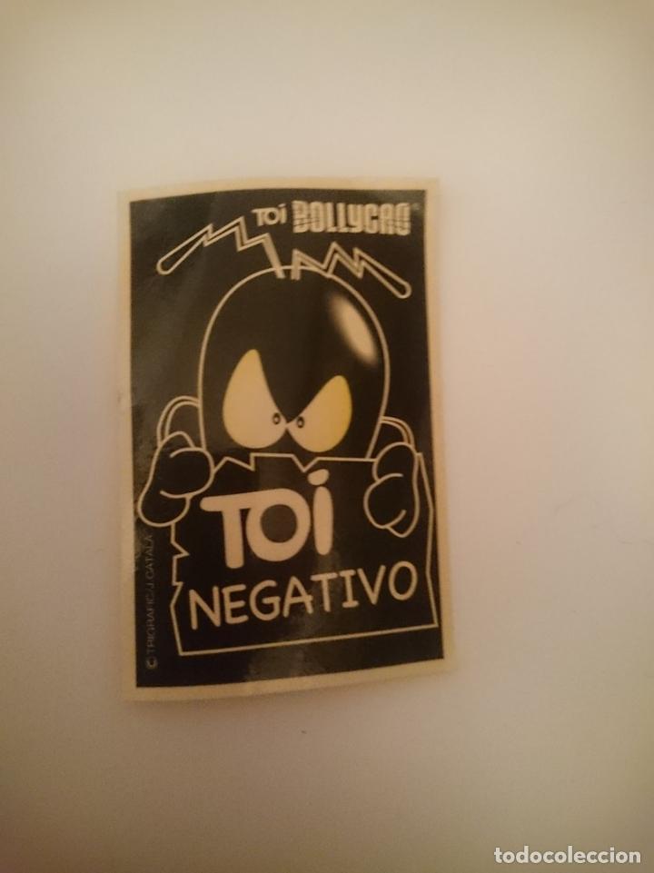 PEGATINA - TOI NEGATIVO (Coleccionismos - Pegatinas)
