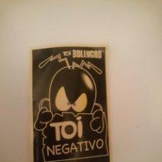 Pegatinas de colección: PEGATINA - TOI NEGATIVO. Lote 207294695