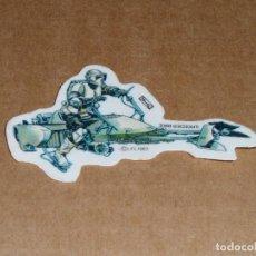 Pegatinas de colección: //COMICROMOSEVILLA// PEGATINA STAR WARS EL RETORNO DEL JEDI DE PANRICO - SPEEDER BIKE (AÑO 1983). Lote 207344885
