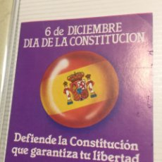 Pegatinas de colección: PEGATINA POLÍTICA CONSTITUCIÓN ESPAÑOLA 1978. Lote 208786105