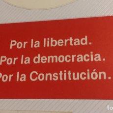 Pegatinas de colección: PEGATINA POLÍTICA CONSTITUCIÓN ESPAÑOLA 1978. Lote 208801518