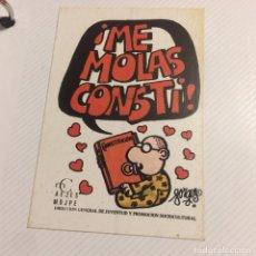 Pegatinas de colección: PEGATINA POLÍTICA CONSTITUCIÓN ESPAÑOLA 1978. Lote 208801533