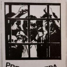 Pegatinas de colección: ANTIGUA PEGATINA POLITICA, PRESOS FUERA, PRESOAK KALERA. Lote 209247517