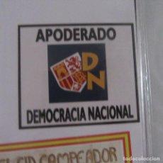 Adesivi di collezione: PEGATINA POLITICA. Lote 209266276