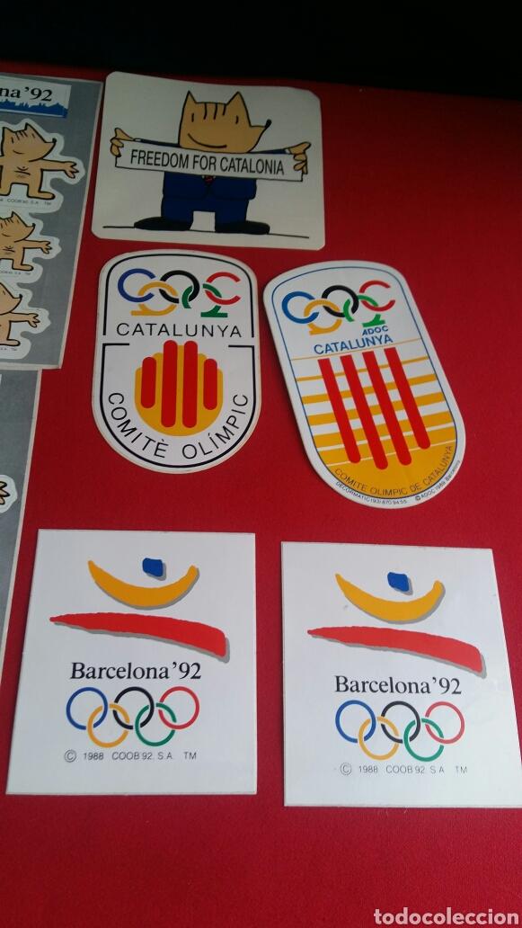 Pegatinas de colección: Lote de 10 pegatinas de las mascotas de la cobi olimpic Barcelona 92 . - Foto 3 - 209419668