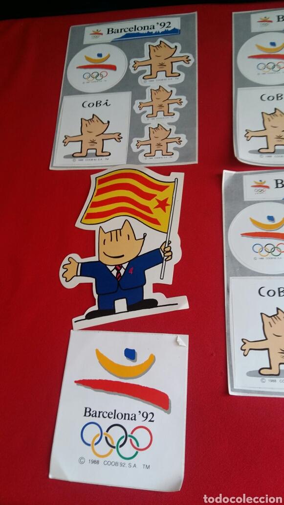 Pegatinas de colección: Lote de 10 pegatinas de las mascotas de la cobi olimpic Barcelona 92 . - Foto 4 - 209419668