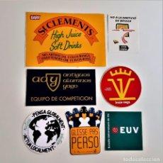 Pegatinas de colección: PEGATINAS STICKERS VARIAS COLECCION. Lote 211696064