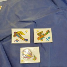Pegatinas de colección: 3 PEGATINAS ANTINGUAS DE BOLLYCAO. Lote 212545827