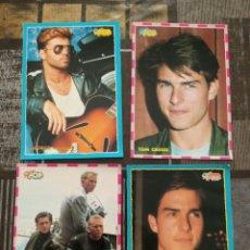 Pegatinas de colección: 4 PEGATINAS GRANDE SUPER POP ANTIGUA. Lote 213149687