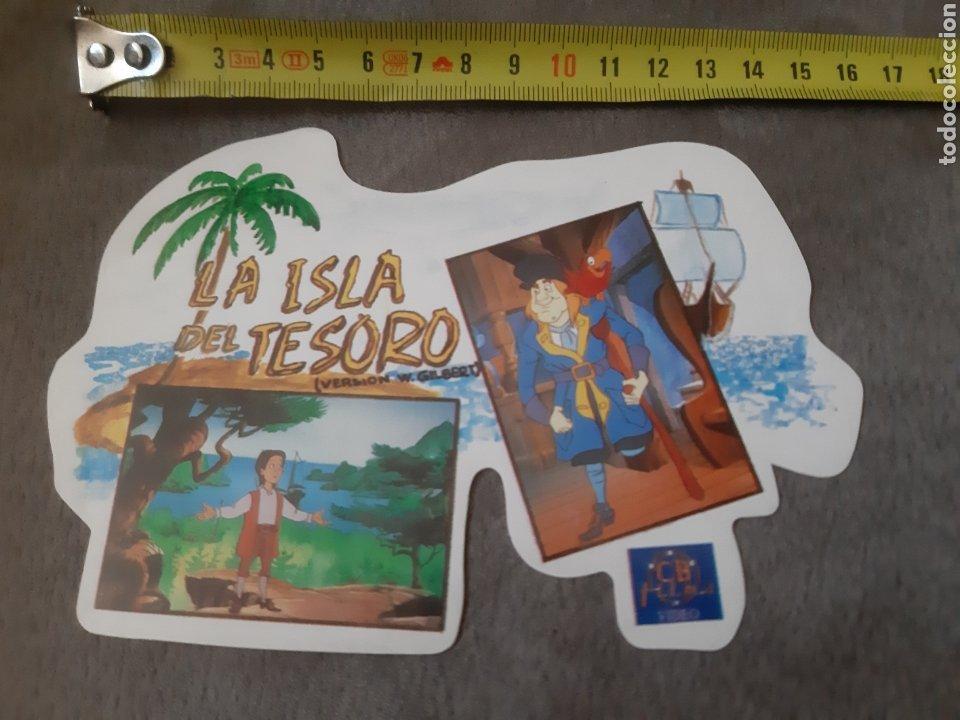 Pegatinas de colección: Pegatina La Isla del Tesoro (14 × 10 cm) - Foto 3 - 213769303
