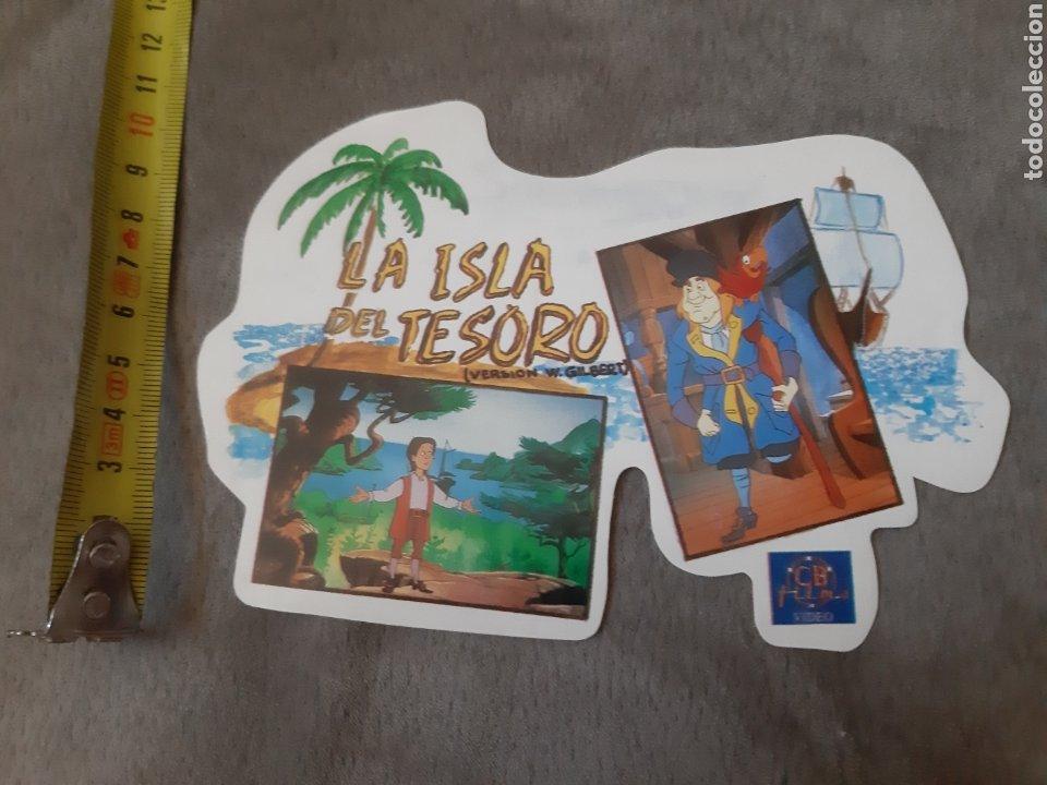 Pegatinas de colección: Pegatina La Isla del Tesoro (14 × 10 cm) - Foto 4 - 213769303