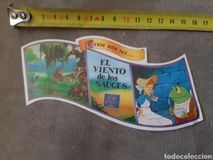 Pegatinas de colección: Pegatina El Viento de los Sauces (15 x 09 cm) - Foto 3 - 213769563