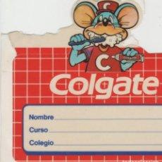 Autocollants de collection: LOTE A-PEGATINA VINTAGE COLGATE. Lote 213895516