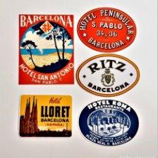 Pegatinas de colección: PEGATINAS STICKERS VARIAS COLECCION HOTELES. Lote 216540206