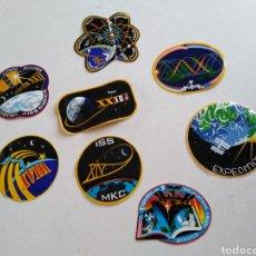 Pegatinas de colección: LOTE DE 8 PEGATINAS EXPEDITION NASA. Lote 216791172
