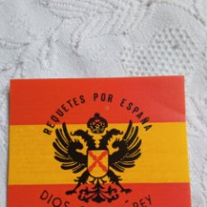 Pegatinas de colección: PEGATINA POLÍTICA TRANSICIÓN CEDADE. FALANGE.FUERZA NUEVA.FRANCO.FRENTE NACIONAL.ABORTO.UCD.CDS.AP.P. Lote 217454172