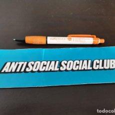 Pegatinas de colección: PEGATINA POLITICA ANTI SOCIAL SOCIAL CLUB POSIBLE RECOGIDA EN MALLORCA. Lote 217619491