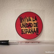 Adesivi di collezione: PEGATINA ORIGINAL - VIVA LA UNIDAD DE - ESPAÑA. Lote 217658005