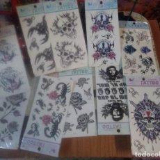 Pegatinas de colección: LOTE DE 10 TATTOO AÑOS 90. Lote 218150331