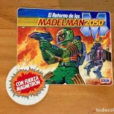 Pegatinas de colección: DIFICIL PEGATINA EL RETORNO DE LOS MADELMAN 2050 DE EXIN. Lote 218416403
