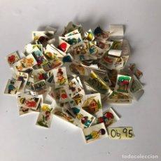 Pegatinas de colección: LOTE DE CROMOS CHOCOLATES LA CALATRAVAS. Lote 218482476