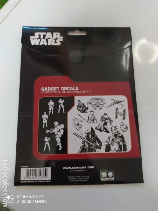 Pegatinas de colección: STAR WARS Disney Gadget para portátiles, smartphone y tablets- ADHESIVO PEGATINA - Foto 2 - 218972008