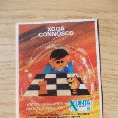 """Pegatinas de colección: PEGATINA """" XOGA CONNOSCO"""" 1984/85"""". Lote 219360371"""