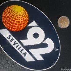 Autocolantes de coleção: PEGATINA GRANDE EXPO 92 SEVILLA 1992. Lote 219477662