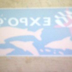 Pegatinas de colección: PEGATINA EXPO 98 LISBOA.. Lote 220682738