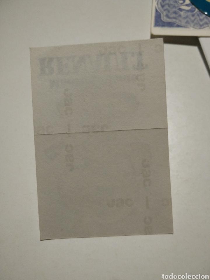 Pegatinas de colección: Pegatina mantenimiento RENAULT - Foto 2 - 221510927