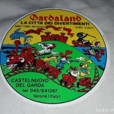 Pegatinas de colección: PEGATINA GARDALAND LA CITTA DEI DIVERTIMENTI VERONA. Lote 221575715