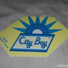 Pegatinas de colección: PEGATINA CITY BOY. Lote 221576063