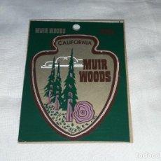 Pegatinas de colección: PEGATINA CALIFORNIA MUIR WOODS. Lote 221581440
