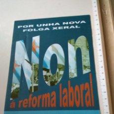 Pegatinas de colección: PEGATINA POLÍTICA IZQUIERDA. Lote 222016398