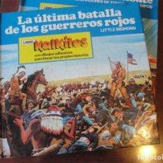 Adesivi di collezione: LIBRO KALKITOS 4 LA ULTIMA BATALLA DE LOS GUERREROS ROJOS LITTLE BIG HORN - A ESTRENAR 1978 EDIGRAF. Lote 222832567
