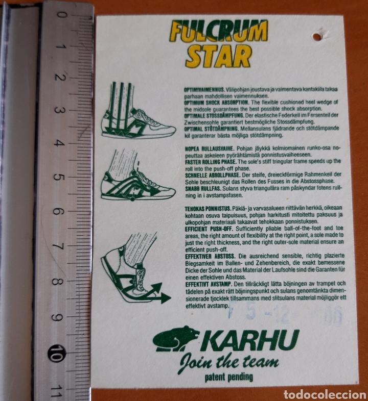 Pegatinas de colección: Pegatina año 87 de las zapatillas marca KARHU - Foto 2 - 222989276