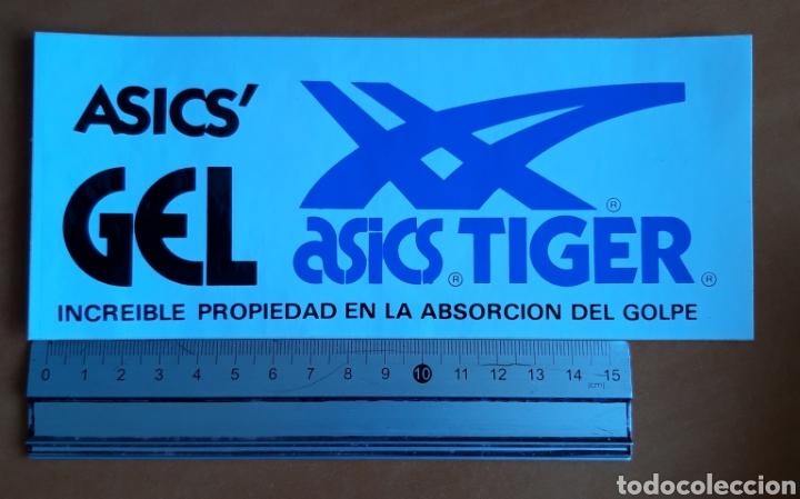 PEGATINA ASICS TIGER AÑOS 80 (Coleccionismos - Pegatinas)