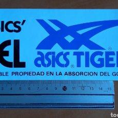 Pegatinas de colección: PEGATINA ASICS TIGER AÑOS 80. Lote 222990005